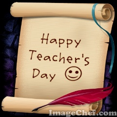 Happy Teacher's Day – 5th September, 2009