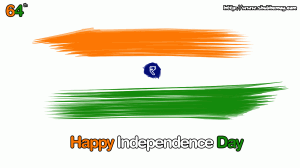 Wish you 64th Indian Independence Day